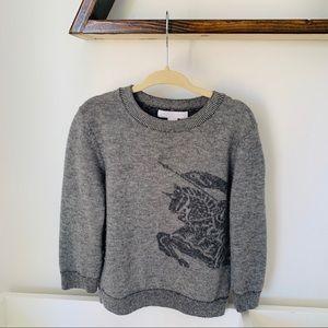Burberry Kid's 100% Cashmere Sweater